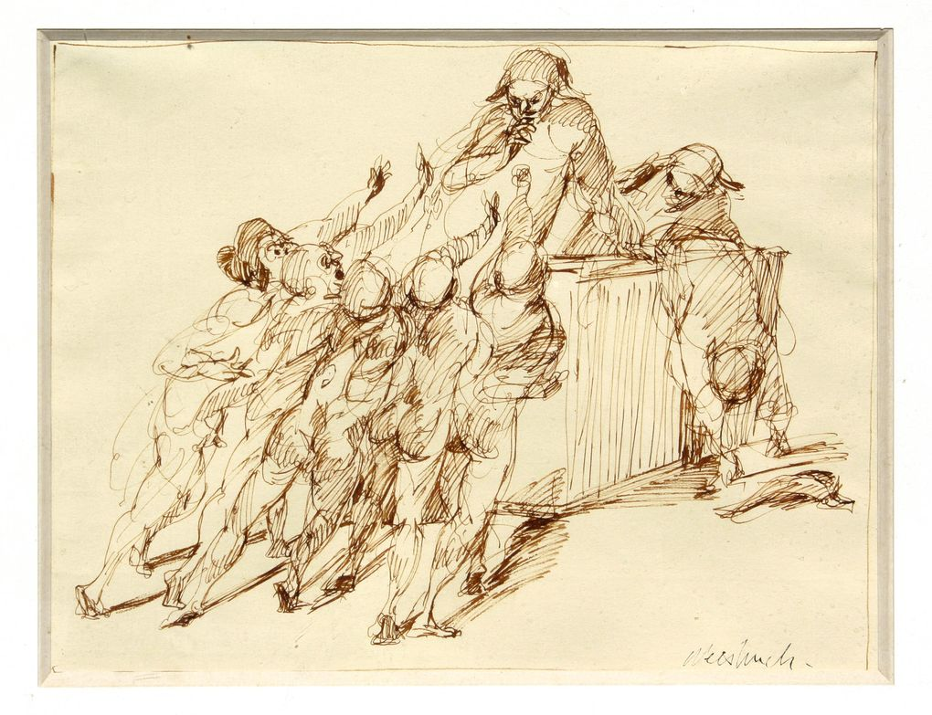 """Weisbuch engraving """"Constituent Assembly"""""""