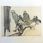 """MSM Collection lithograph """"Lovers of prints"""""""