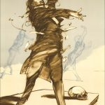 """Weisbuch MSM Collection lithograph """"Mozart conductor"""""""